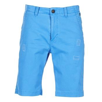 Textil Muži Kraťasy / Bermudy Petrol Industries CHINO Modrá