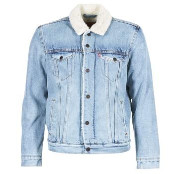Textil Muži Riflové bundy Levi's TYPE 3 SHERPA TRUCKER světle modrá