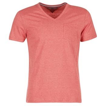Textil Muži Trička s krátkým rukávem Tommy Hilfiger HTR END ON END Růžová