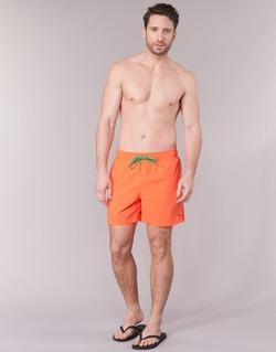 Textil Muži Plavky / Kraťasy Tommy Hilfiger SOLID SWIM TRUNK Oranžová