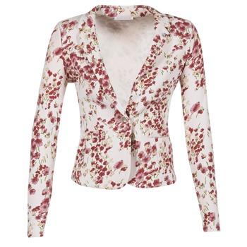 Textil Ženy Saka / Blejzry Les P'tites Bombes OSIDOULE Bílá / Červená