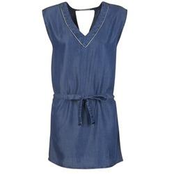 Textil Ženy Krátké šaty Les P'tites Bombes GUELOFI Modrá