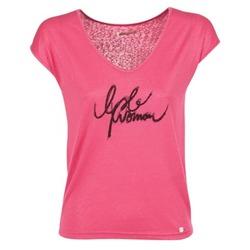 Textil Ženy Trička s krátkým rukávem Les P'tites Bombes CHOUBERNE Růžová