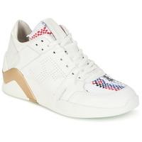 Boty Ženy Kotníkové tenisky Serafini CHICAGO Bílá / Zlatá