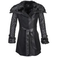 Textil Ženy Kabáty Morgan GEFROU Černá