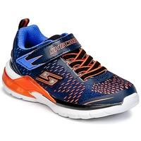 Boty Chlapecké Multifunkční sportovní obuv Skechers ERUPTERS II Tmavě modrá / Oranžová