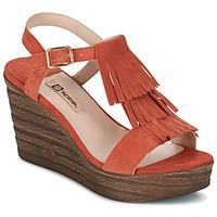 Boty Ženy Sandály Spiral CARLA Oranžová