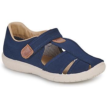 Boty Chlapecké Sandály Citrouille et Compagnie GUNCAL Tmavě modrá