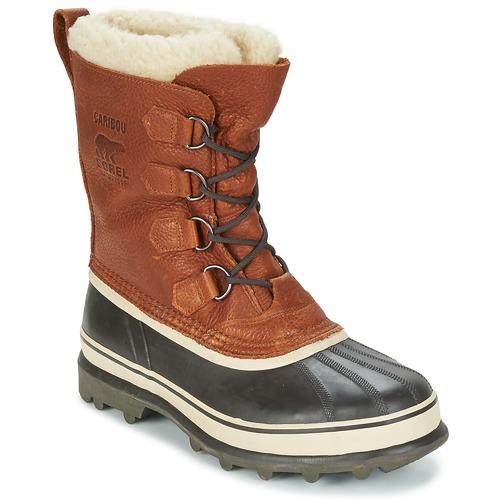 Boty Muži Zimní boty Sorel CARIBOU WL Hnědá
