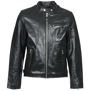 Textil Muži Kožené bundy / imitace kůže Schott LC 940 D Černá