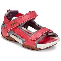 Boty Dívčí Sandály Camper OUS Červená