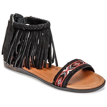 Boty Ženy Sandály Minnetonka MOROCCO Černá