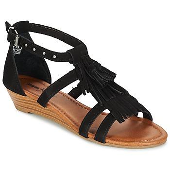 Boty Ženy Sandály Minnetonka MARINA Černá