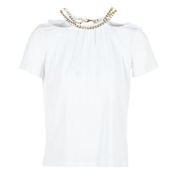 Textil Ženy Halenky / Blůzy Versace Jeans B2HPB721 Bílá