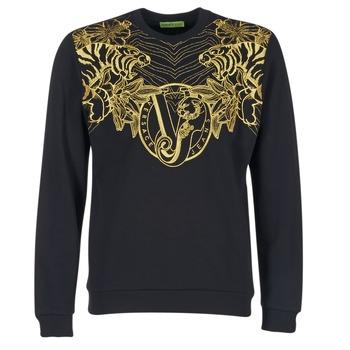 Versace Jeans Mikiny B7GPB7F0 - Černá
