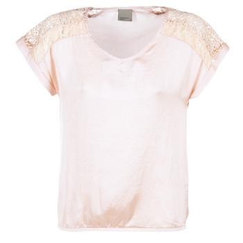Textil Ženy Halenky / Blůzy Vero Moda SATINI Růžová