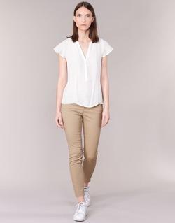 Textil Ženy Kapsáčové kalhoty Vero Moda BUENO Béžová
