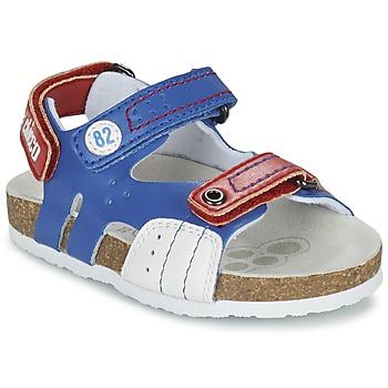 Boty Chlapecké Sandály Chicco HELIO Modrá / Bílá / Červená