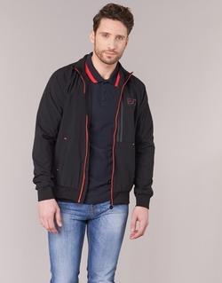 Textil Muži Bundy Emporio Armani EA7 TRAIN EVOLUTION Černá