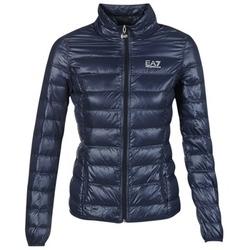 Textil Ženy Prošívané bundy Emporio Armani EA7 TRAIN CORE Tmavě modrá