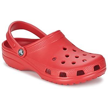 Boty Pantofle Crocs CLASSIC Červená