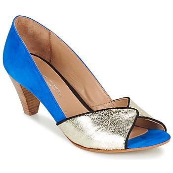 Boty Ženy Lodičky Betty London GABYN Modrá / Zlatá