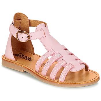 Boty Dívčí Sandály Citrouille et Compagnie JASMA Růžová