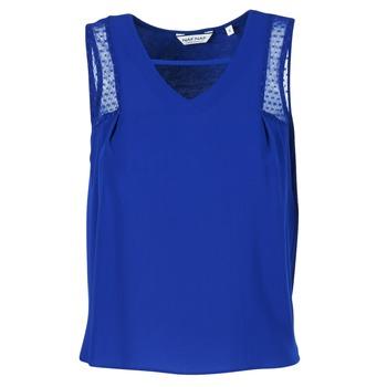 Textil Ženy Tílka / Trička bez rukávů  Naf Naf OPIPA Modrá