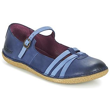 Boty Ženy Baleríny  Kickers HIBOU Tmavě modrá