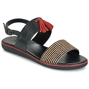 Boty Ženy Sandály Kickers HYRO Černá / Červená
