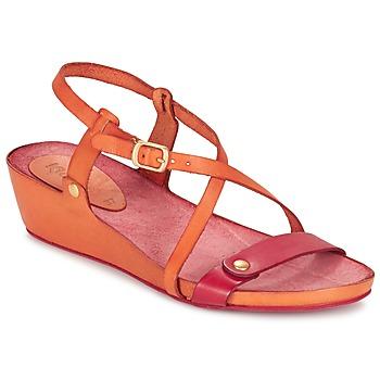 Boty Ženy Sandály Kickers TASTE Oranžová / Červená