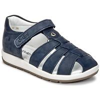 Boty Chlapecké Sandály Kickers SOLAZ Tmavě modrá