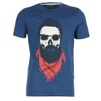 Textil Muži Trička s krátkým rukávem Jack & Jones TRICK ORIGINALS Tmavě modrá