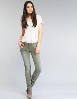 Textil Ženy Kapsáčové kalhoty Freeman T.Porter ALEXA SLIM NEW MAGIC COLOR Khaki