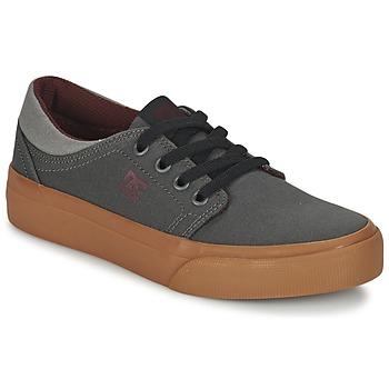 Boty Děti Nízké tenisky DC Shoes TRASE TX B SHOE XSSR Šedá / Červená