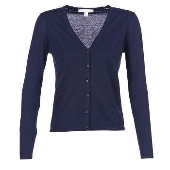 Textil Ženy Svetry / Svetry se zapínáním Esprit EPILARA Tmavě modrá