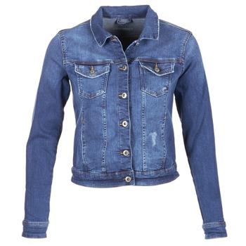 Textil Ženy Riflové bundy Esprit CROVETTA Modrá