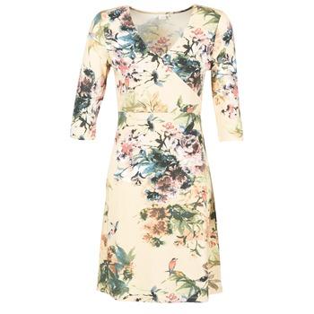 Textil Ženy Krátké šaty Cream ROSEMARY