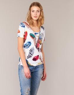 Textil Ženy Trička s krátkým rukávem Derhy JACQUOT Bílá