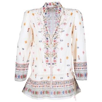 Textil Ženy Tuniky Derhy DETENTE Krémově bílá