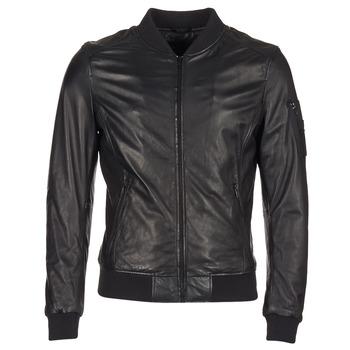 Textil Muži Kožené bundy / imitace kůže Oakwood 62354 Černá