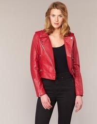 Textil Ženy Kožené bundy / imitace kůže Oakwood YOKO Červená
