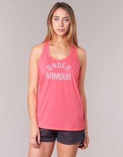 Textil Ženy Tílka / Trička bez rukávů  Under Armour THREADBORNET TWIST GRAPHIC Růžová