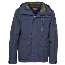 Textil Muži Parky Esprit MABEL Tmavě modrá