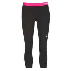 Textil Ženy Legíny Nike NP CL CAPRI Černá / Růžová