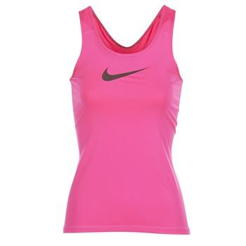 Nike Tílka / Trička bez rukávů NIKE PRO COOL TANK - Růžová
