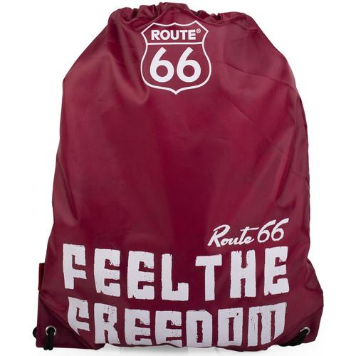 Taška Sportovní tašky Route 66 Severní Karolína Burgundy