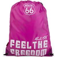 Taška Sportovní tašky Route 66 Severní Karolína Fuchsie