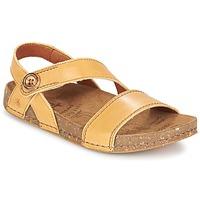 Boty Ženy Sandály Art WE WALK Velbloudí hnědá