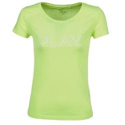 Textil Ženy Trička s krátkým rukávem Only Play BASIC Žlutá